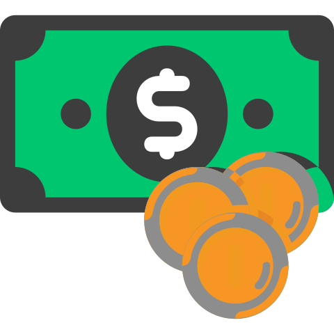 icon showing currency (FX) image
